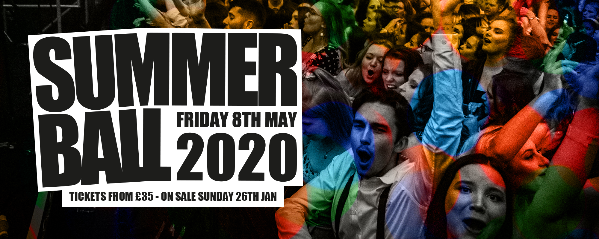 SB20 crowd image - Friday 8th May 2020. On sale Sunday 26th Jan at midday