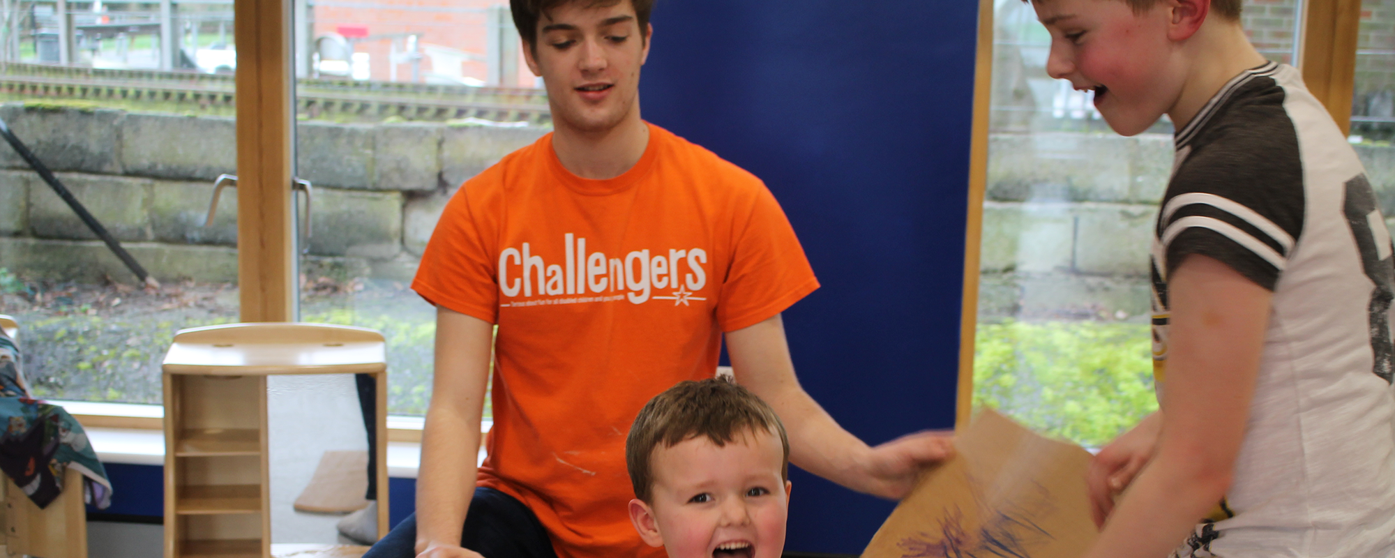 The student body has voted! Challengers is this year's RAG Charity of the Year. Challengers is all about delivering inclusive fun for disabled children and young people aged 2-25 years old.